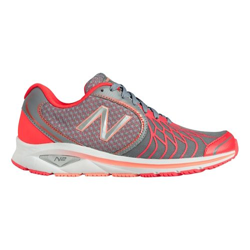 Womens New Balance 1765v2 Walking Shoe - Grey/Pink 8.5