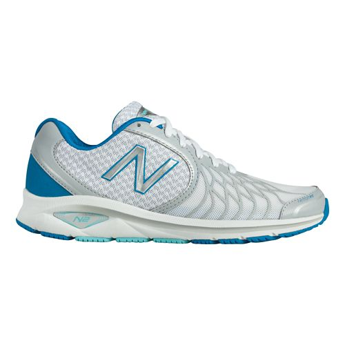 Womens New Balance 1765v2 Walking Shoe - White/Blue 9.5