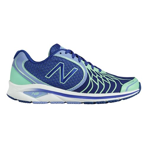 Womens New Balance 1765v2 Walking Shoe - Purple/Green 10.5