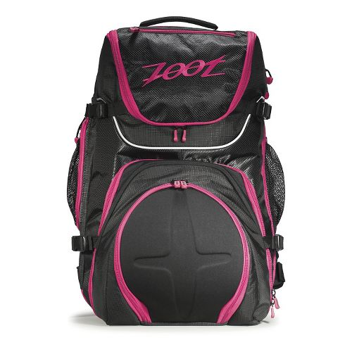 Zoot Ultra Tri 2.0 Bags - Black/Pink Punch