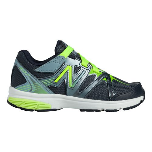 Kids New Balance 697 Y Running Shoe - Hi-Lite/Grey 5