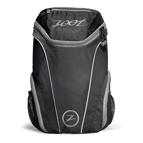 Zoot Sport Pack 2.0 Bags - Black/Silver