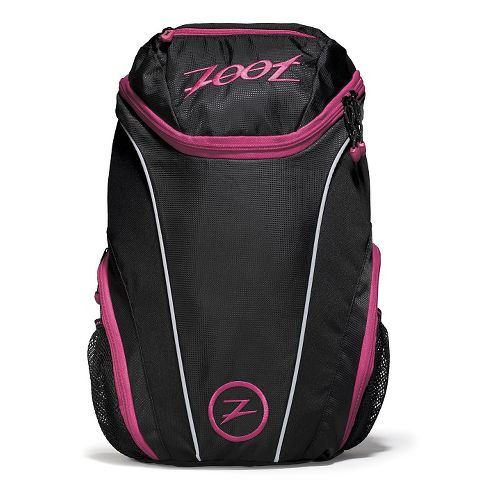 Zoot Sport Pack 2.0 Bags - Black/Pink Punch