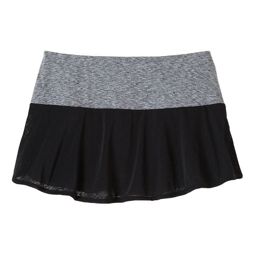 Womens Prana Arissa Skort Fitness Skirts - Black XS