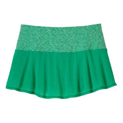 Womens Prana Arissa Skort Fitness Skirts - Cool Green XL
