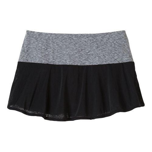 Womens Prana Arissa Skort Fitness Skirts - Black XL