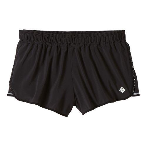 Womens Prana Poppy Lined Shorts - Black XS