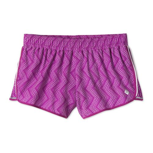 Womens Prana Poppy Lined Shorts - Vivid Viola L