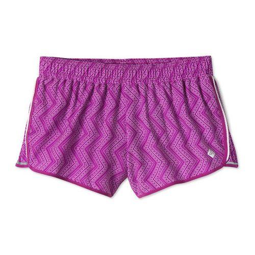 Womens Prana Poppy Lined Shorts - Vivid Viola M