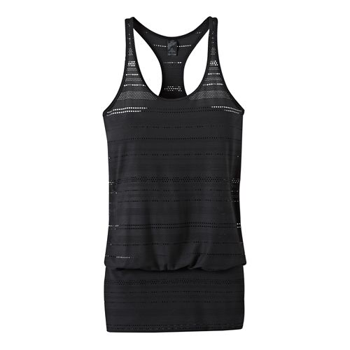 Womens Prana Ambrosia Tank Technical Tops - Black XS