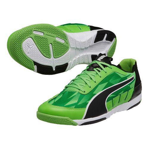 Mens Puma Nevoa Lite 2.0 Court Shoe - Green/Black 6.5