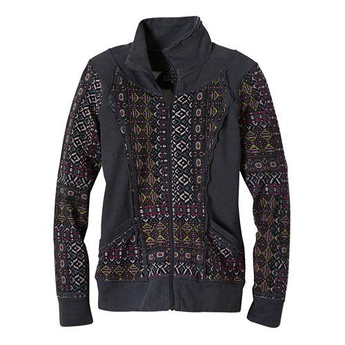 Womens Prana Peppa Lightweight Jackets - Mosaic S