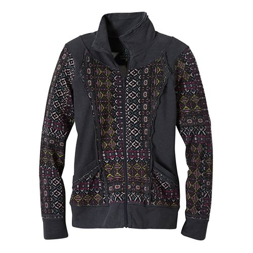 Womens Prana Peppa Lightweight Jackets - Mosaic XS