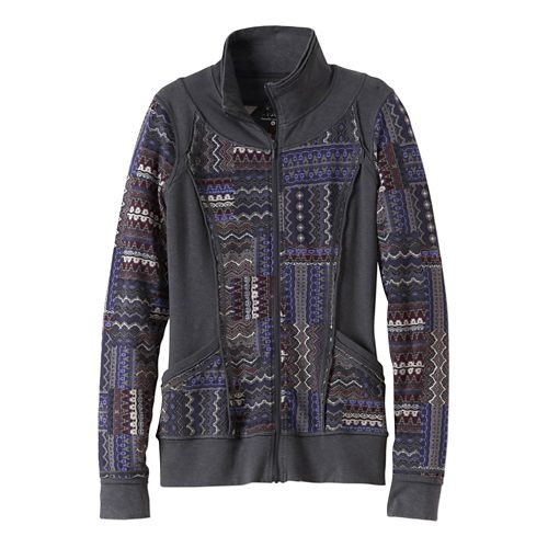 Womens Prana Peppa Lightweight Jackets - Mosaic M