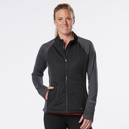 Womens Road Runner Sports Warm Haven Puff Outerwear Jackets - Twilight S