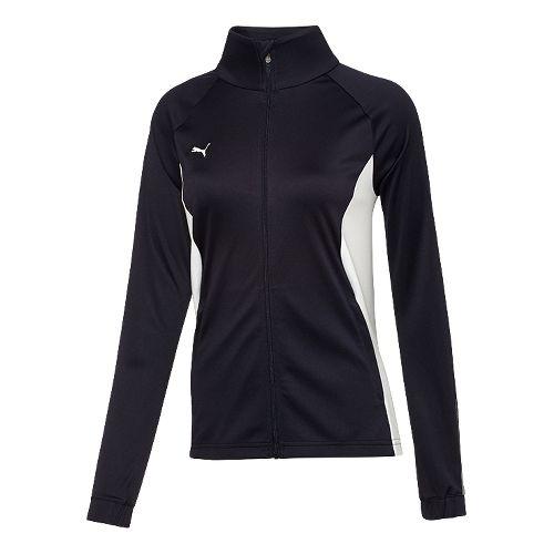 Womens Puma Hergame Walkout Lightweight Jackets - New Navy/White S