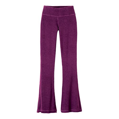 Womens Prana Juniper Pants - Violet Billow M
