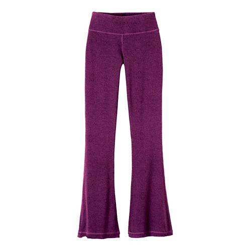 Womens Prana Juniper Pants - Violet Billow S