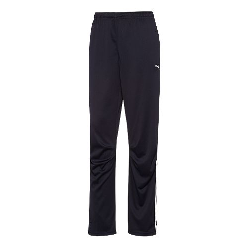 Womens Puma Hergame Walkout Full Length Pants - Navy/White L