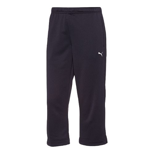 Womens Puma Hergame Performance Capri Pants - Navy L