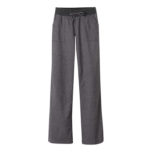 Womens Prana Mantra Full Length Pants - Coal XL