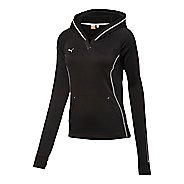 Womens Puma Hergame Light Pullover Long Sleeve Hooded Technical Tops