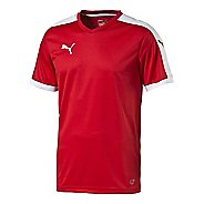 Mens Puma Pitch Shirt Short Sleeve Technical Tops