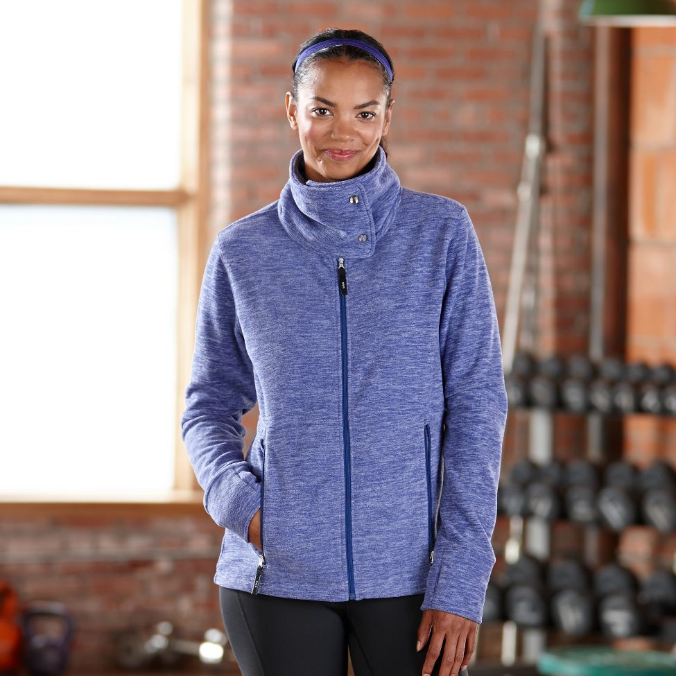 Road Runner Sports Wonderland Fleece Lightweight Jacket