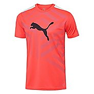 Mens Puma IT Evo TRG Graphic Tee Short Sleeve Technical Tops