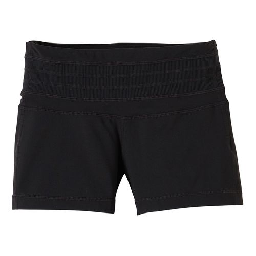 Womens Prana Olympia Unlined Shorts - Black XL