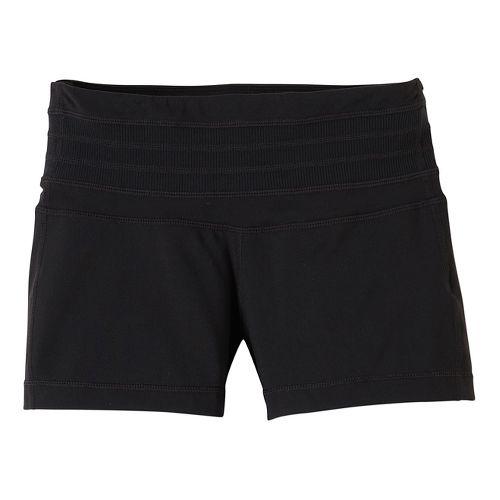 Womens Prana Olympia Unlined Shorts - Black XS