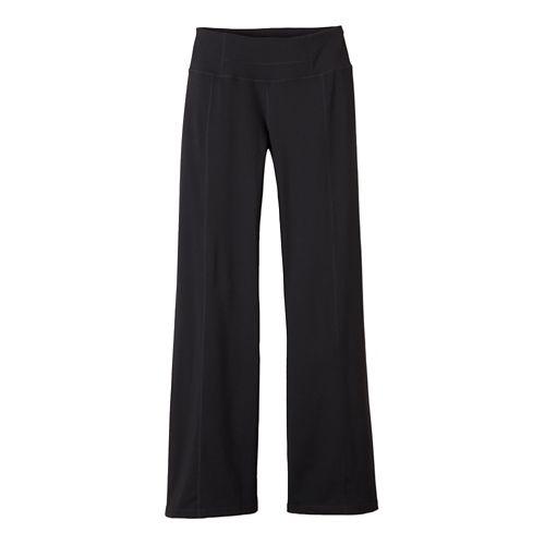 Womens Prana Julia Full Length Pants - Black L-T