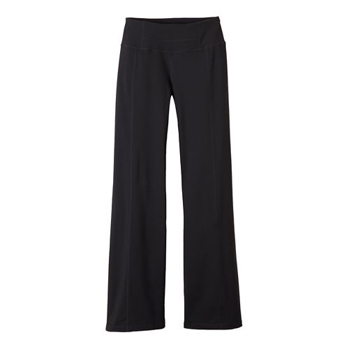 Womens Prana Julia Full Length Pants - Black XS-R