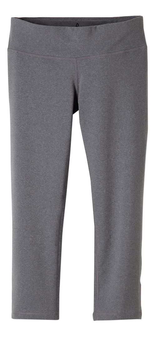 Womens prAna Ashley Legging Capris Tights - Heather Grey L