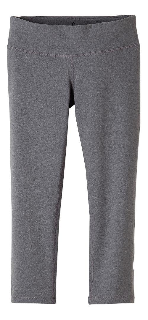 Womens prAna Ashley Legging Capris Tights - Heather Grey XL