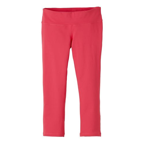 Womens prAna Ashley Legging Capris Tights - Azalea XL
