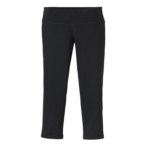 Womens Prana Ashley Legging Capri Tights - Charcoal Heather XL
