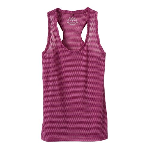 Womens Prana Reine Tank Technical Tops - Fuchsia L