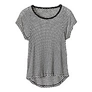 Womens Prana Cherish Short Sleeve Technical Tops