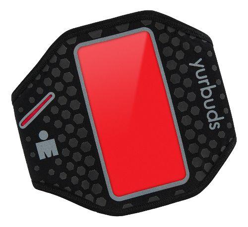 Yurbuds Universal Ergosport Armband Fitness Equipment - Black/Red