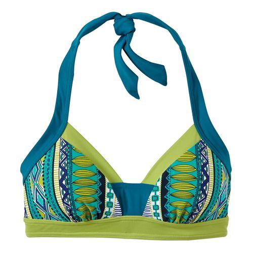 Womens Prana Isla TopSwim - Fuchsia Tribe XS