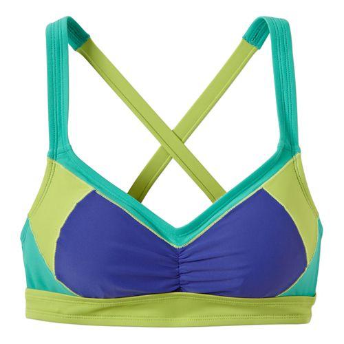 Womens Prana Kalia TopSwim - Sail Blue M