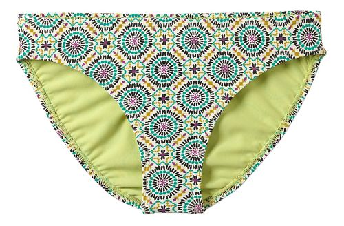 Womens Prana Lani Bottom Swim - Cool Green Sundial S