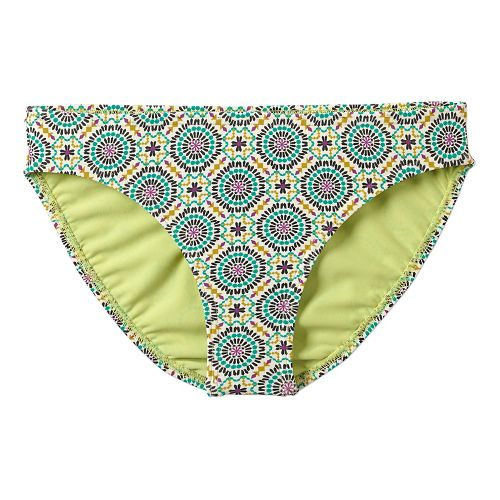 Womens Prana Lani Bottom Swim - Cool Green Sundial XS