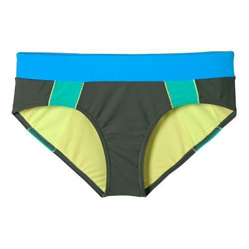 Womens Prana Zuri Bottom Swim - Pewter XS