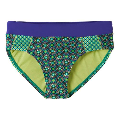 Womens Prana Zuri BottomSwim - Cool Green Hyannis M