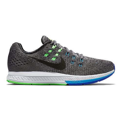 Mens Nike Air Zoom Structure 19 Running Shoe - Grey 8.5