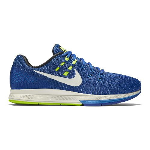 Mens Nike Air Zoom Structure 19 Running Shoe - Blue 8