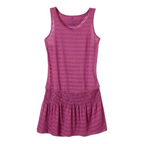 Womens Prana Zadie Dress Fitness Skirts - Fuchsia S