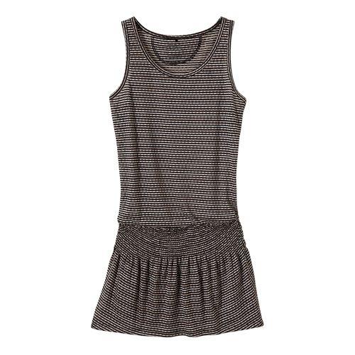 Womens Prana Zadie Dress Fitness Skirts - Cool Green L